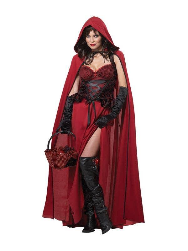 Red Riding Hood Halloween Costume  5653a3d24