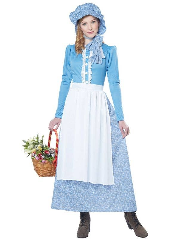 Pioneer Early Settler Olden Days Women's Colonial Costume