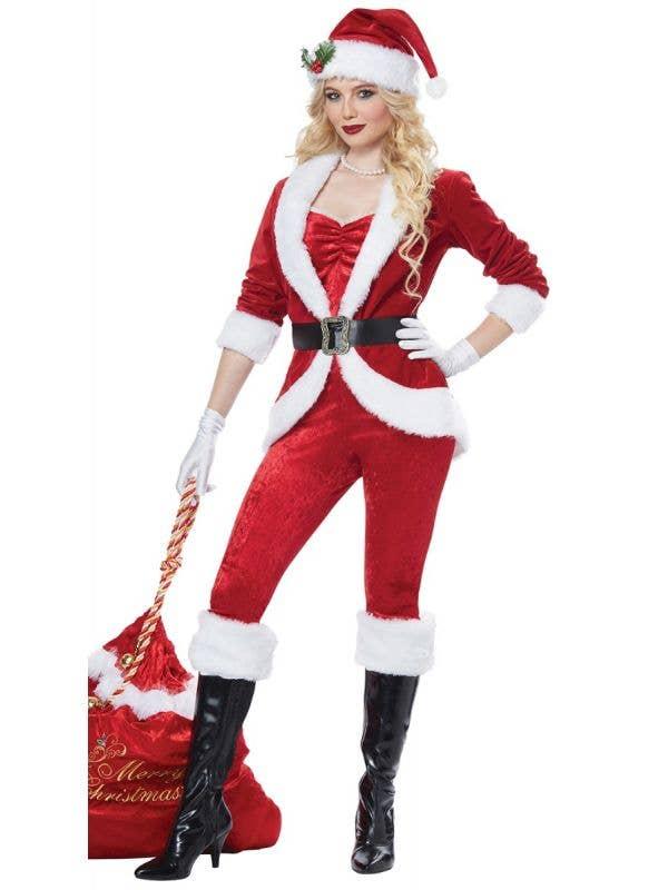 Sassy Santa Womens Sexy Santa Outfit Christmas Costume