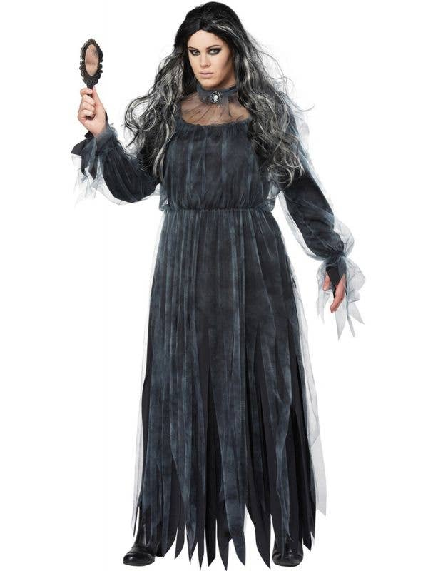 Plus Size Bloody Mary Women's Halloween Fancy Dress Costume Main Image