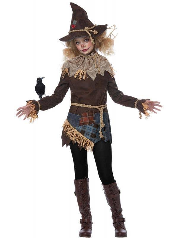 California costumes creepy scarecrow teen girls halloween fancy dress costume-main image