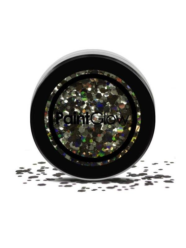 Loose Chunky Holographic Black Glitter For Face Body and Hair
