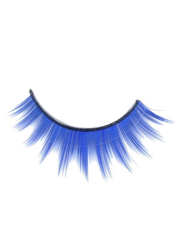 f179491eb0f Women's Bright Blue Layered Fluffy False Eyelashes Costume Accessory Main  Image 1