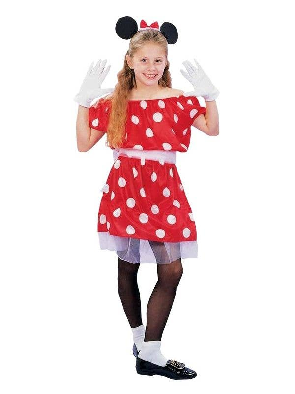 Girls Minnie Mouse Costume Minnie Mouse Kids Book Week Costume