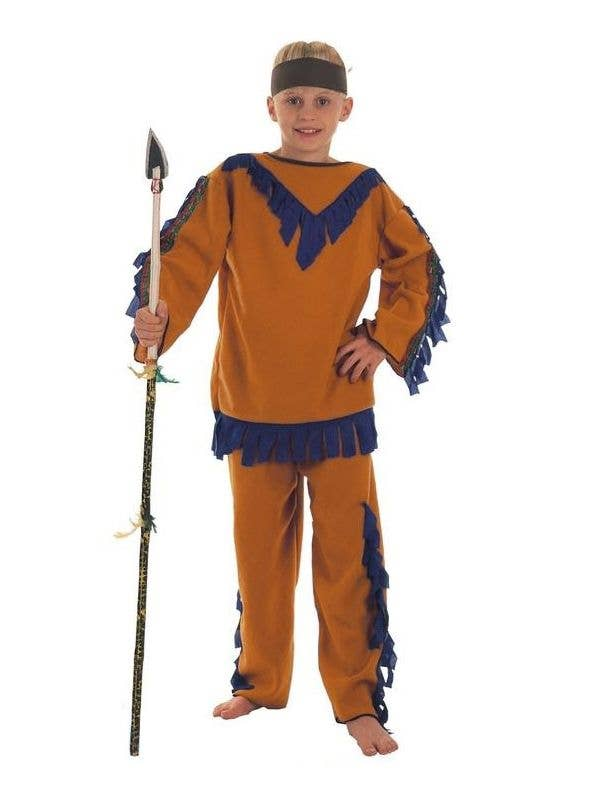 Indian Boy Kids Native American Book Week Costume