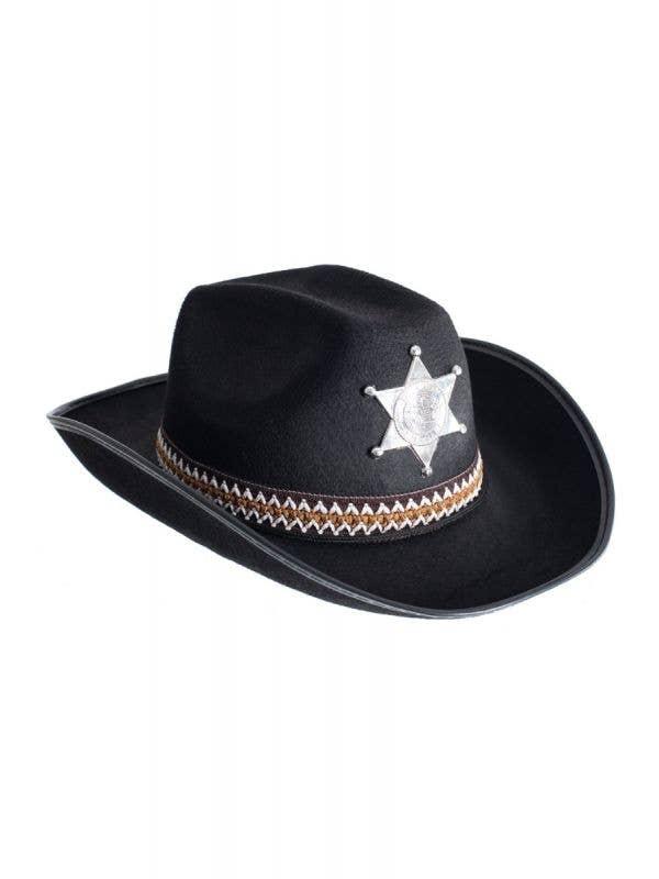 Deputy Sheriff Adults Cowboy Black Hat Main Image