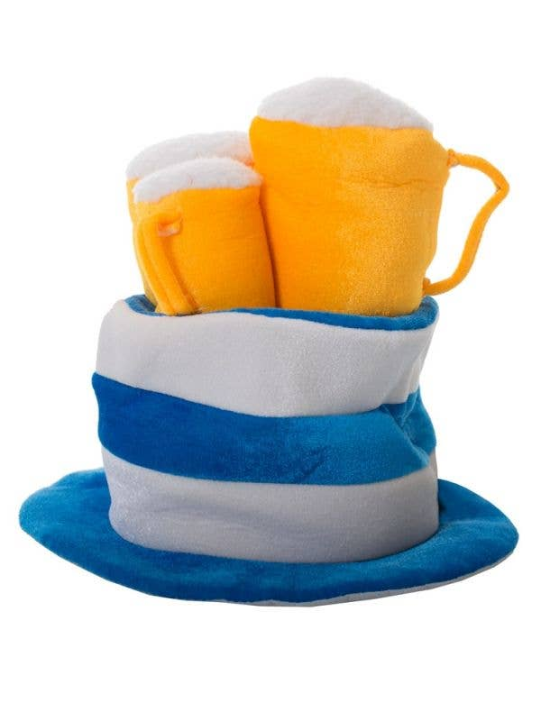 Novelty Beer Steins Plush Oktoberfest Hat