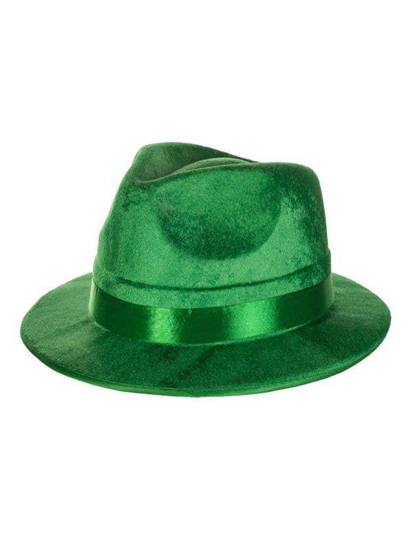 1920 s Green Gangster Fedora Hat 59c6efc7f1d1