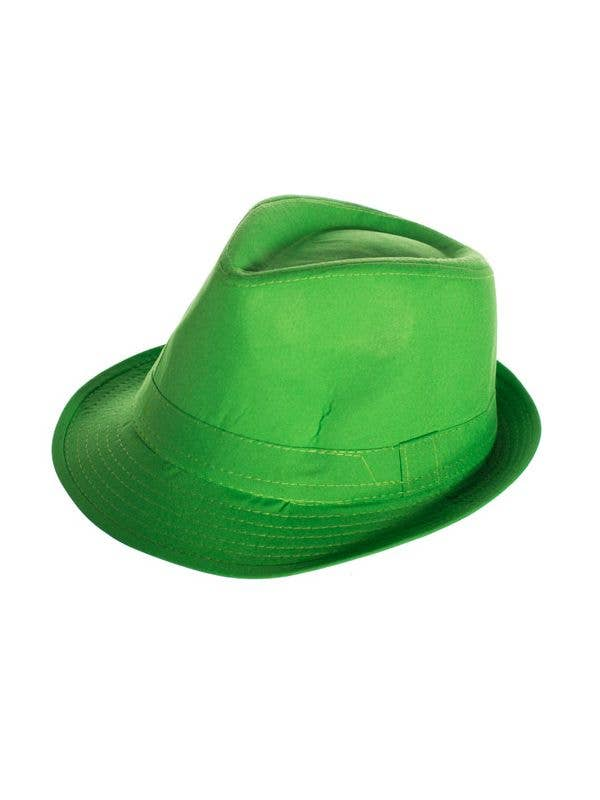 Adult s Gangster Green Trilby Hat  35c55b4d3903