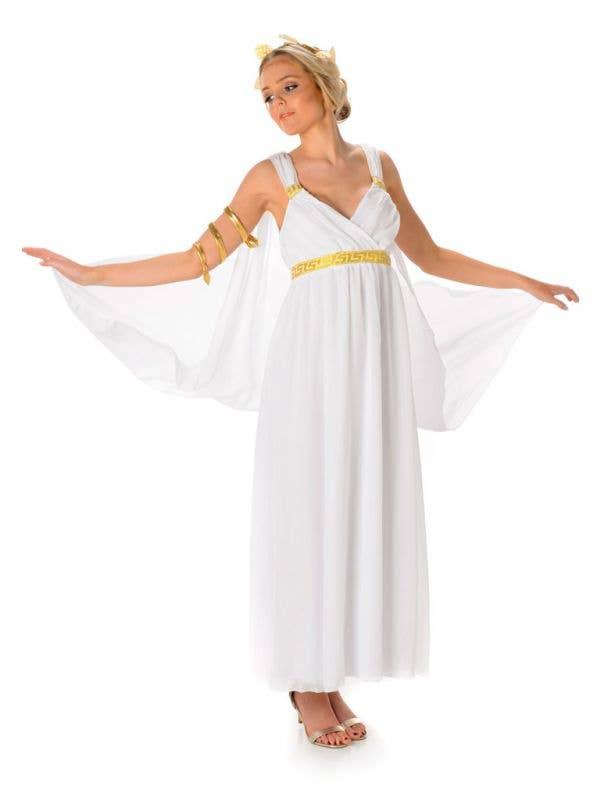 Greek Goddess Women's Fancy Dress Costume Main Image