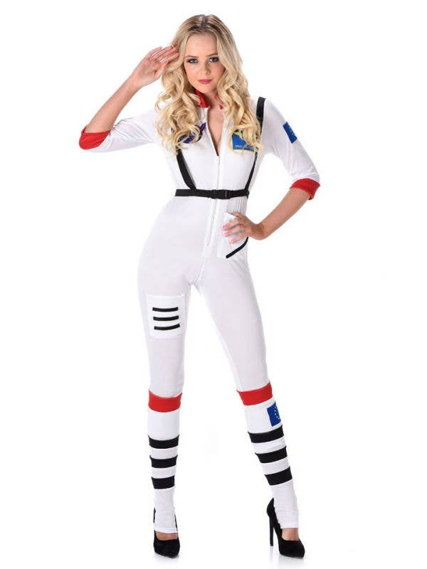 be373663f47d Women s Sexy NASA Astronaut Fancy Dress Costme