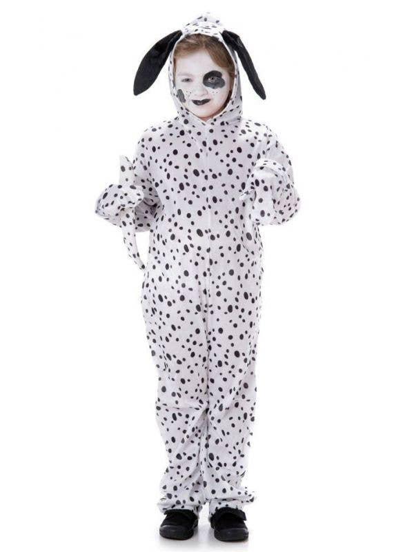 Kids Cute Dalmatian Onesie Book Week Costume Main Image