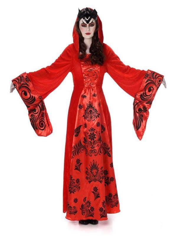 Women's Vampire Queen Halloween Costume