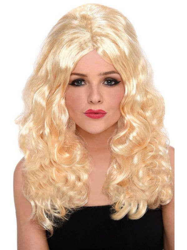 Beach Babe Pammy Blonde Women's Wig Costume Accessory