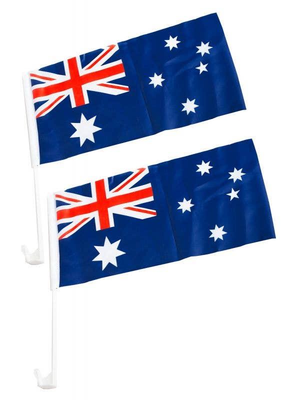 Australian Car  Flags Australia Day Novelty Flags