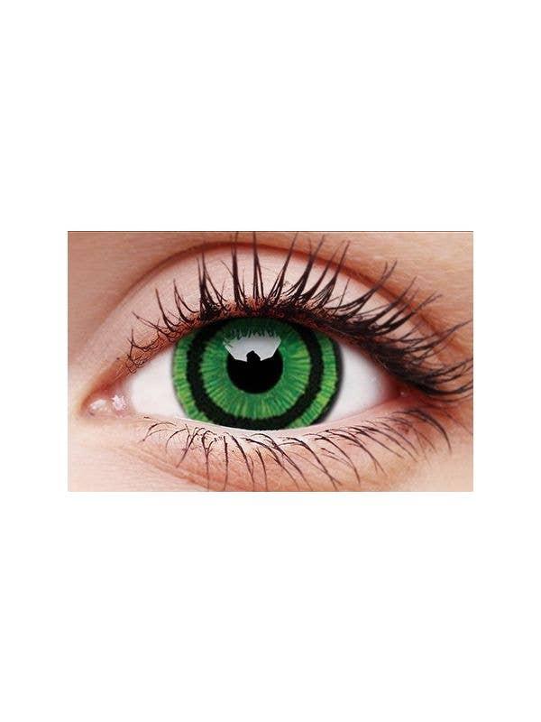 ColurVUE Green Goblin 12 Month Wear 17mm Mini Sclera Contact Lenses