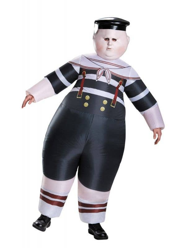 Adult's Inflatable Tweedle Dee or Tweedle Dum Fancy Dress Costume