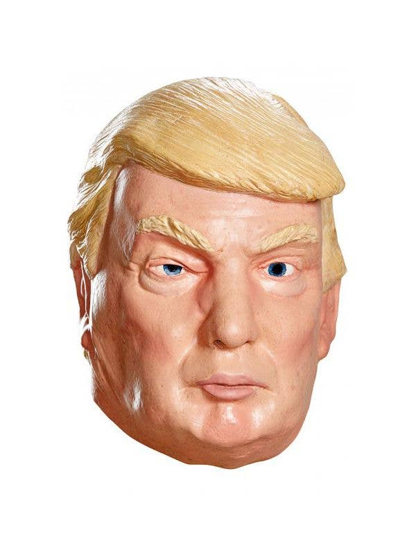 Late Capitalist Despot Donald Drumph Full Face Latex Adult's Novelty Mask Costume Accessory