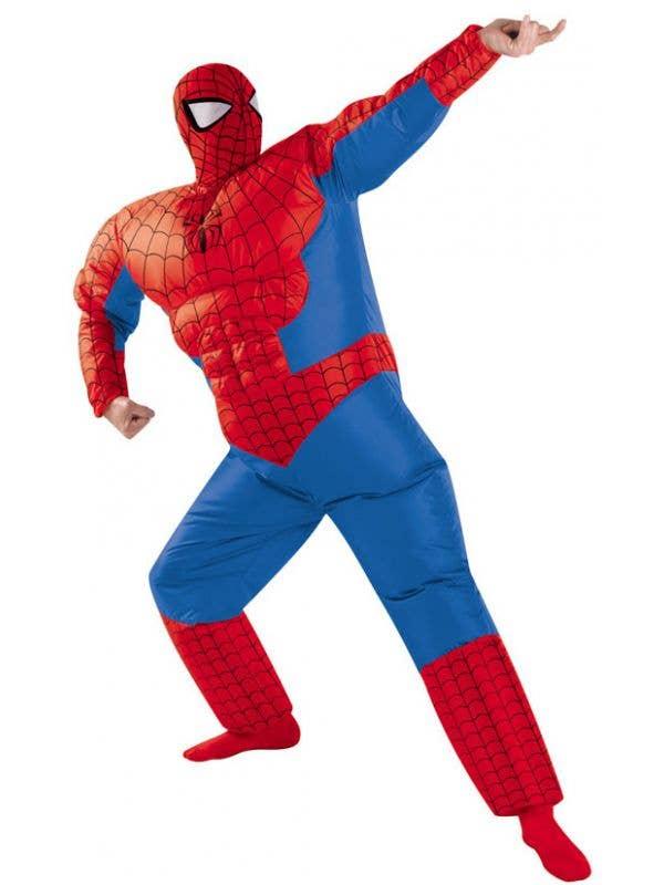 Inflatable Spiderman Men S Costume Men S Spiderman