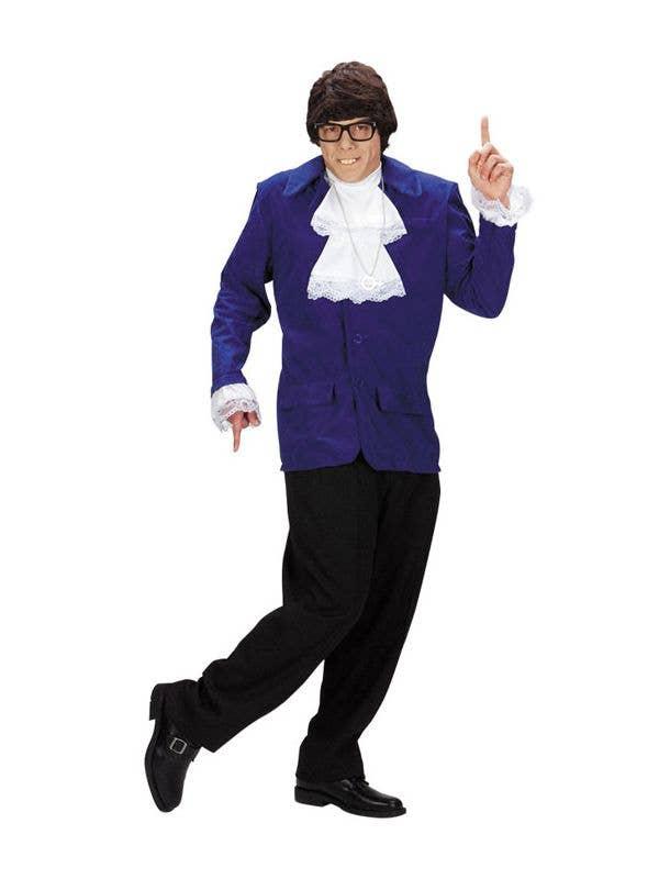 9557ffe175d8 Austin Powers Men's Costume | Men's Deluxe Austin Powers Costume