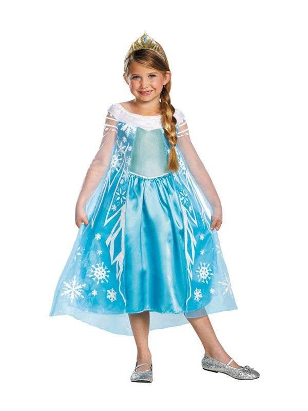 627e9165e Princess Elsa Frozen Girls Costume