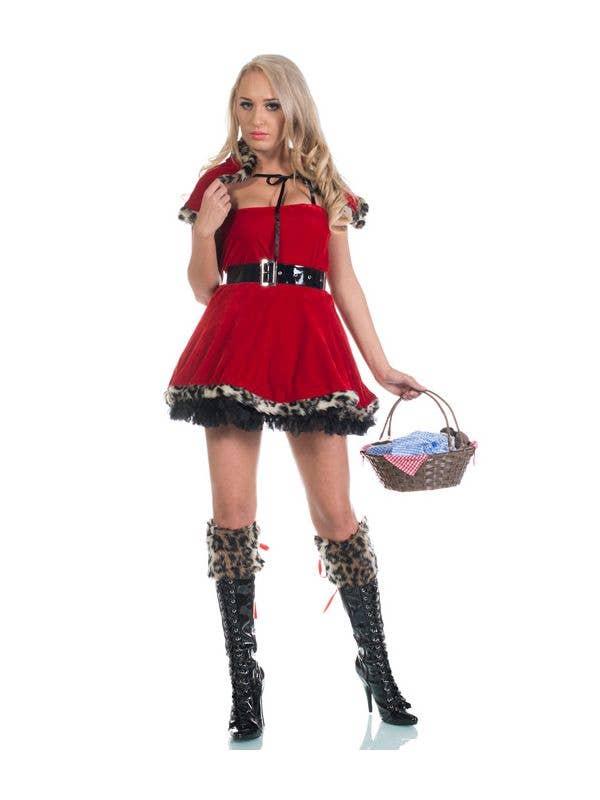 97d6dd7b525 Naughty Red Riding Hood Sexy Women s Costume