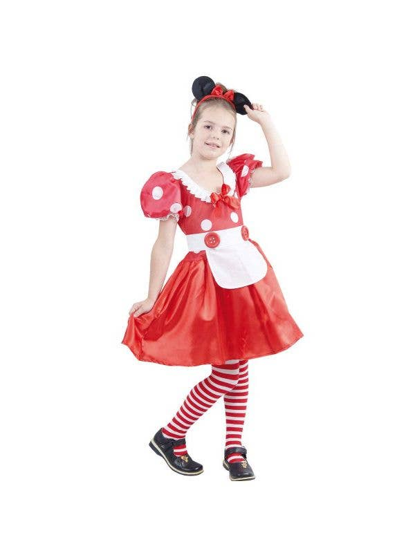 aff8b453b Girls Classic Minnie Mouse Costume   Minnie Mouse Book Week Costume