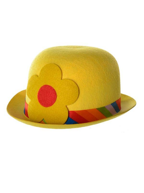 Clown Bowler Hat in Yellow  6ccc2f8bad85