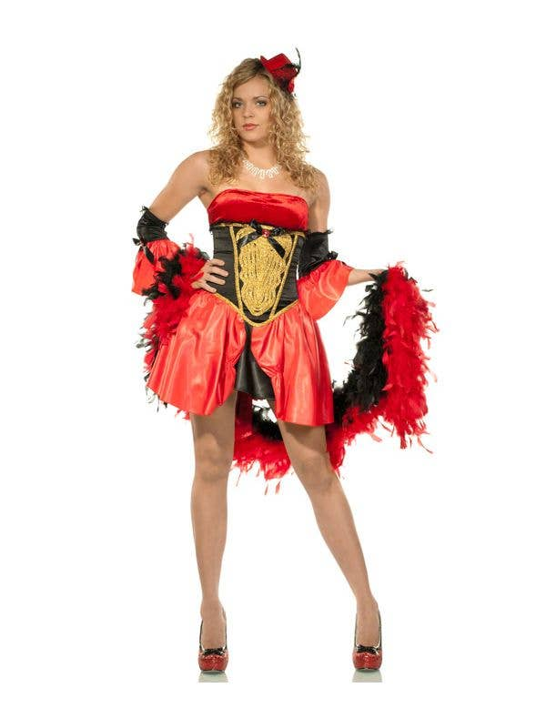 Women's Circus Showgirl Fancy Dress Main Image
