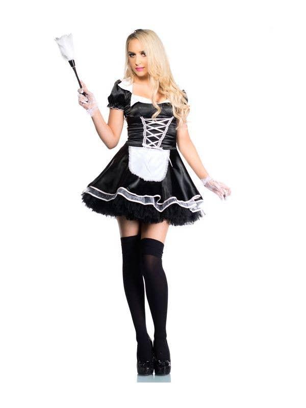 Maid sexy through walk