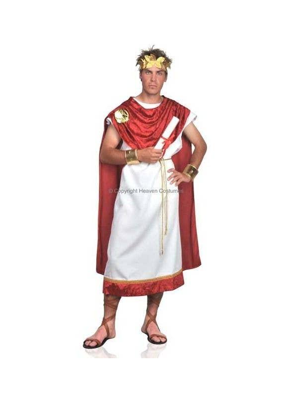 8bad9957d Roman Costume | Marcus Brutus Roman Senator Costume | Men's Toga
