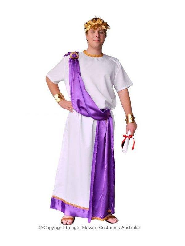 Roman Costume Plus Size Julius Caesar Costume Mens Toga