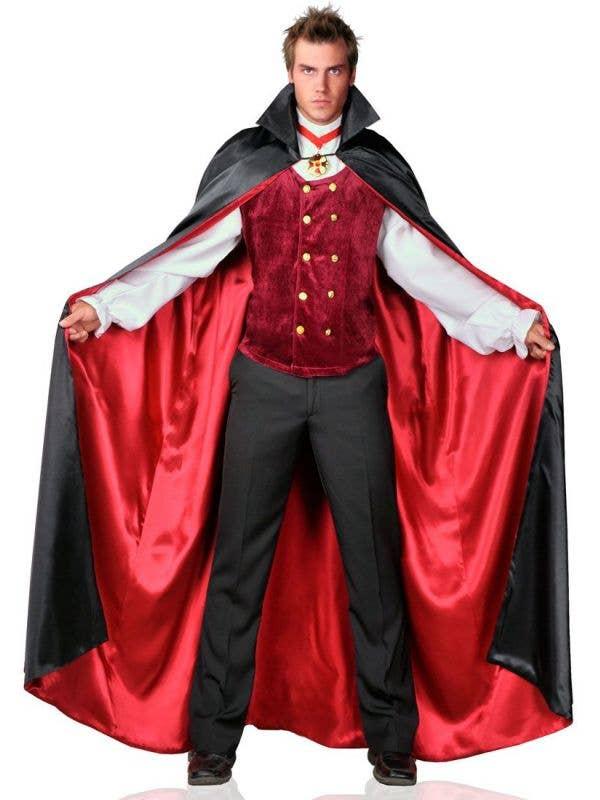 Men's Count Bloodthirst Deluxe Vampire Costume Main Image