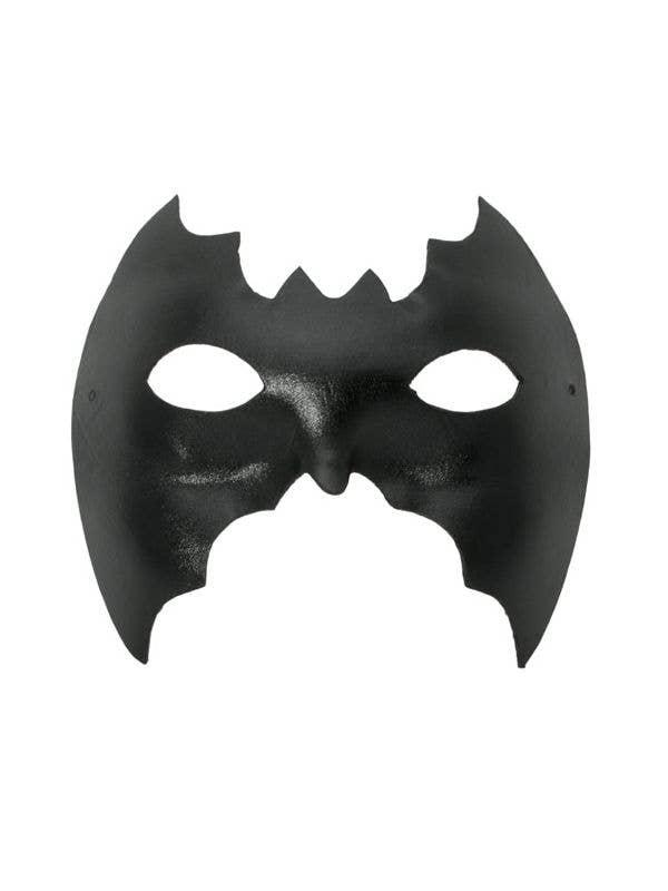 Men-s Black Vinyl Bat Eye Party Mask