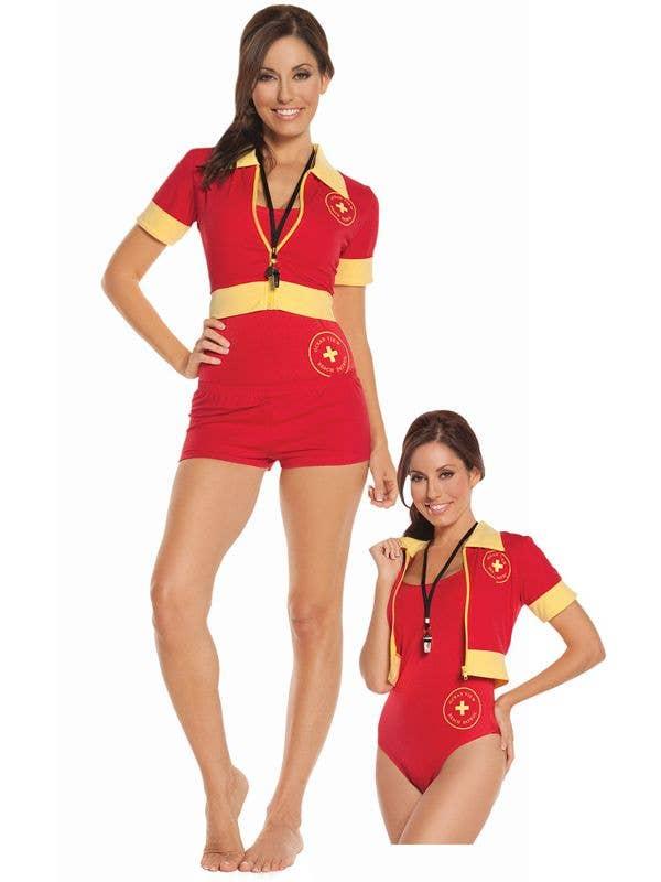 6680ea5d52f2 Beach Patrol Lifeguard Women s Costume