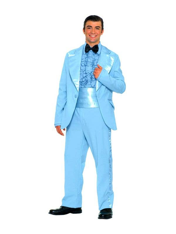 50\'s Prom King Men\'s Costume | 1950\'s Blue Prom Suit Fancy Dress