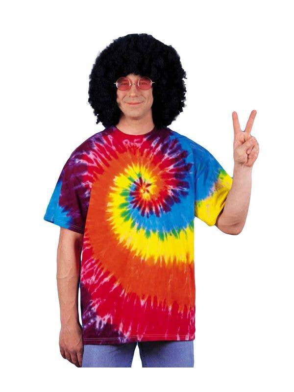 d40c8374 Men's Hippie Tie-Dyed Costume T-Shirt | MEN'S COSTUMES