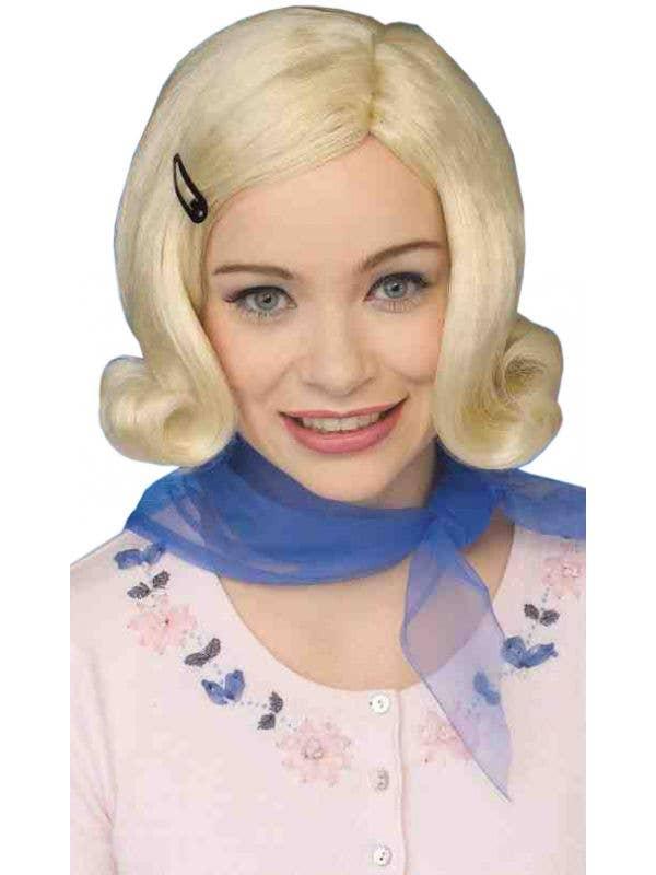 Blonde Bopper Women's 1950s Diner Girl Wig Main Image