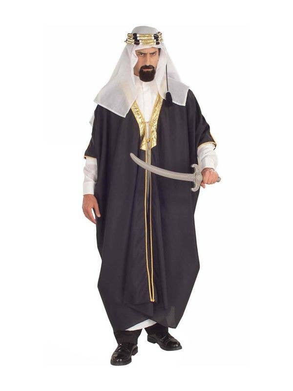 International Men's Arab Sheik Desert Prince Costume Main Image