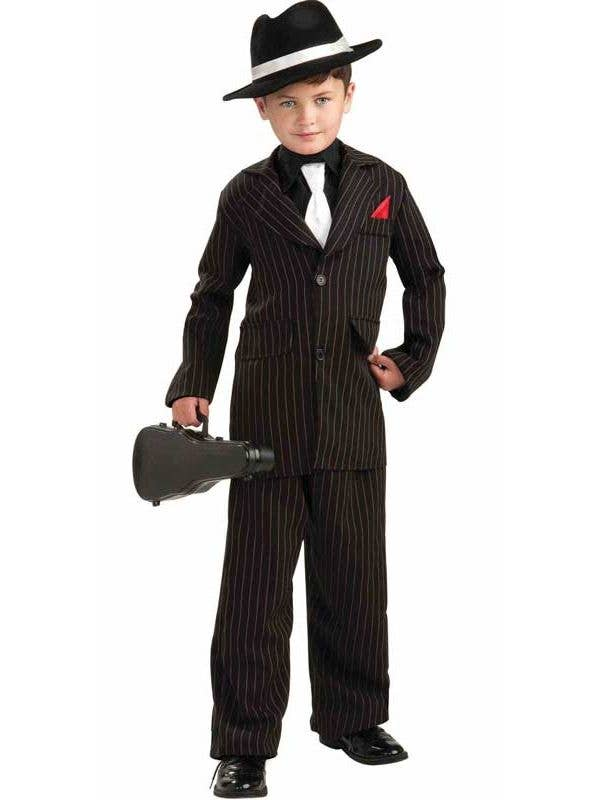 6c8a4b5ca17c3 Gangster Boy s Mob Boss Costume Front View