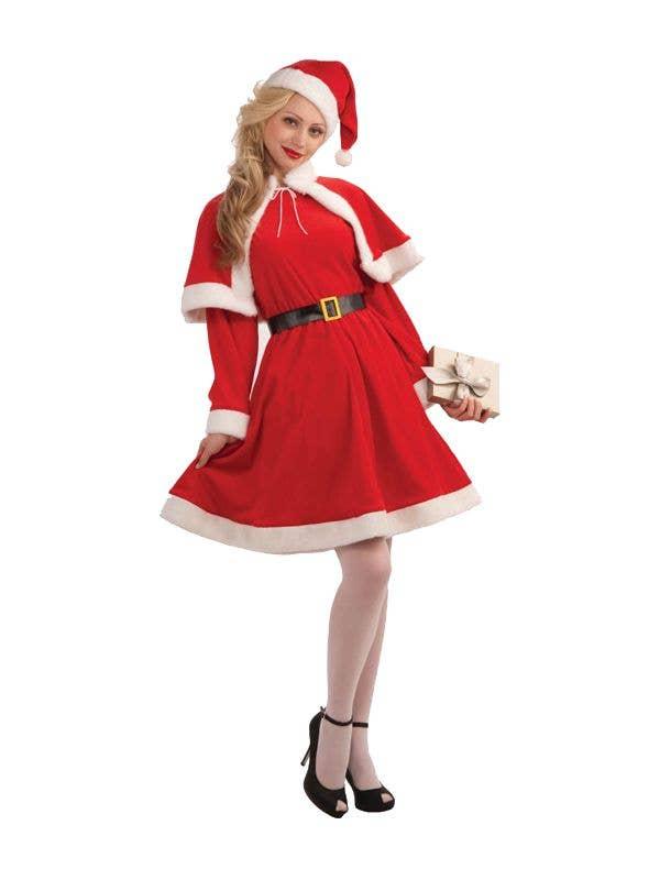 018472891aea Miss Santa Women's Christmas Costume   Mrs Claus Fancy Dress Costume