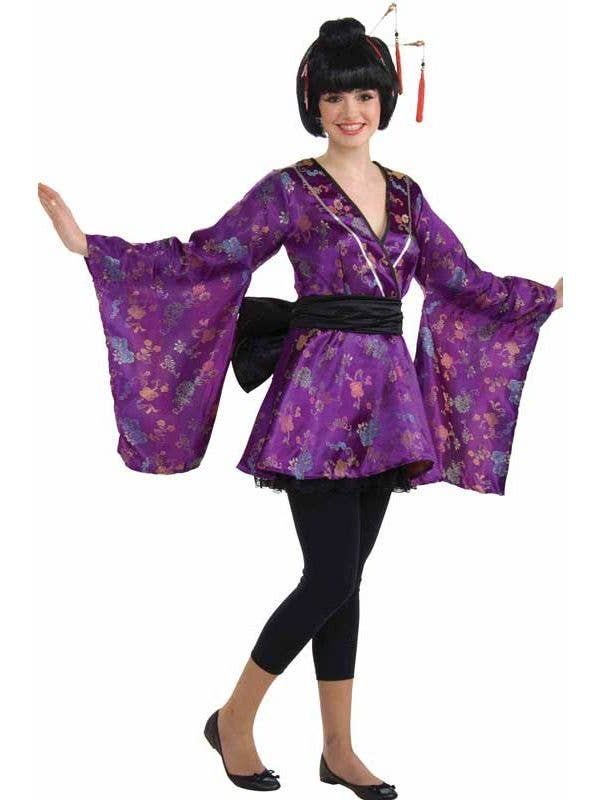 Plus size geisha costume