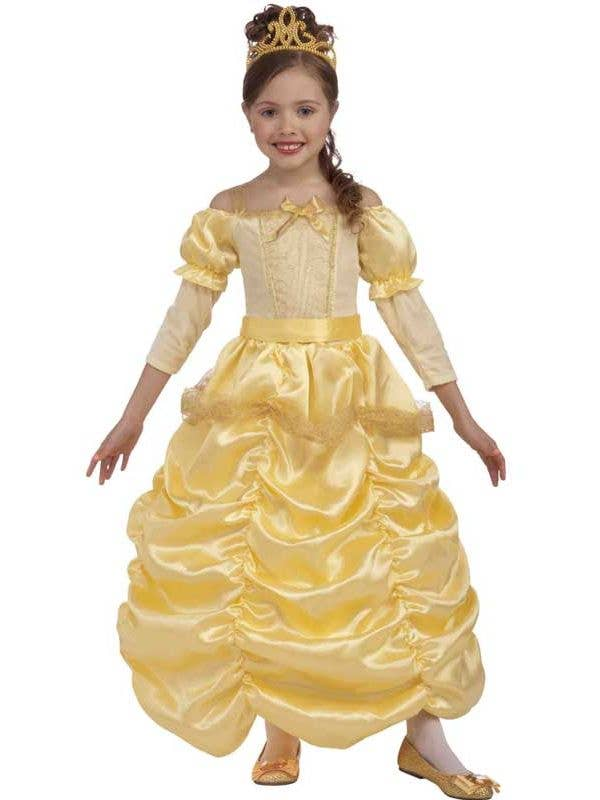 02a1a0e17b957 Princess Belle Girls Costume