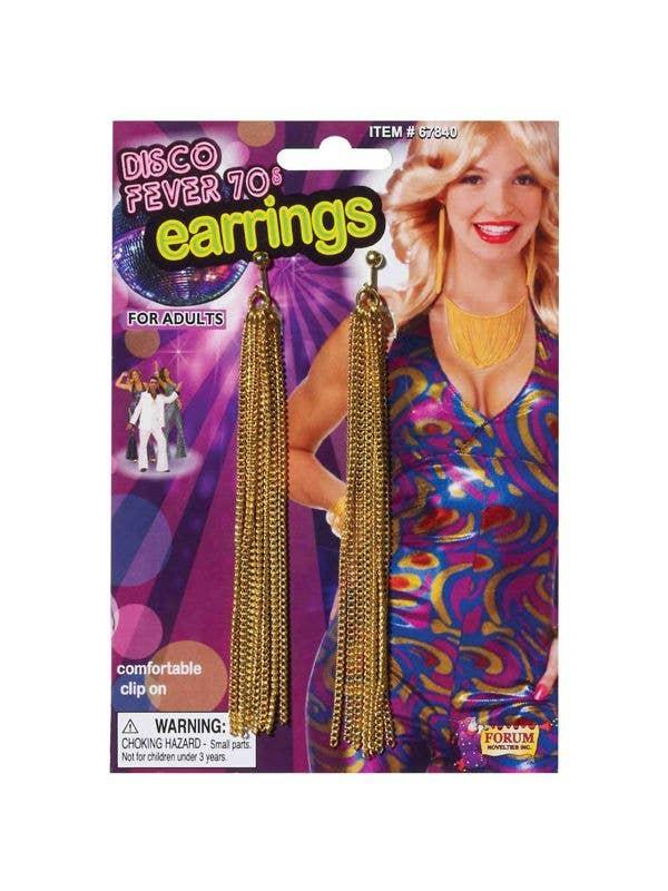 e5fceb69835a 1970 s Disco Fever Novelty Earrings