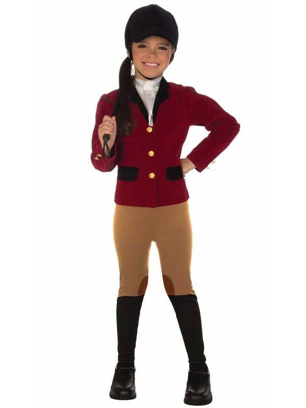 Girl's Horse Rider Equestrian Costume Front View