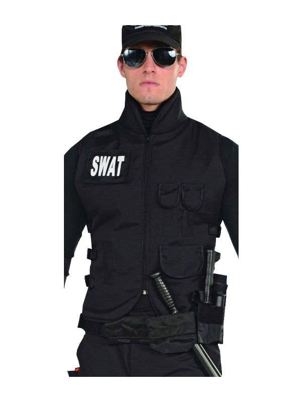 Swat Commander Men S Costume Vest Men S Swat Costume