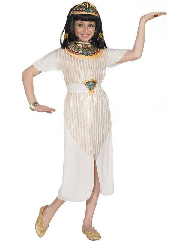 d8d65da5f6a Egyptian Queen Girl s Costume Front View