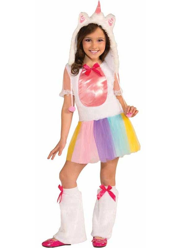 72332276ee47 Rainbow Unicorn Girls Costume