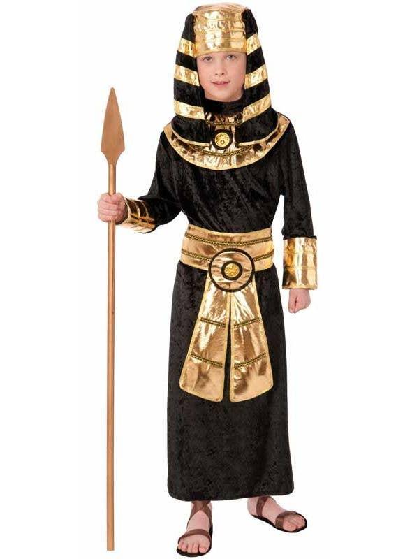 Boy's Egyptian Pharaoh International Costume Front View