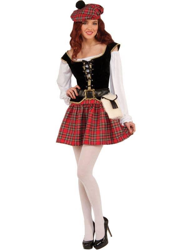 Women S Sexy Scottish Costume Scottish Highlander Women